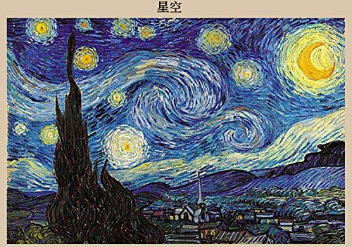 Jigsaw Adult Large Super Large Assembly Jigsaw Adult Large Landscape Gift Jigsaw Pieces-Milky White Starry Sky Tablets 1000 Tablets Frameless