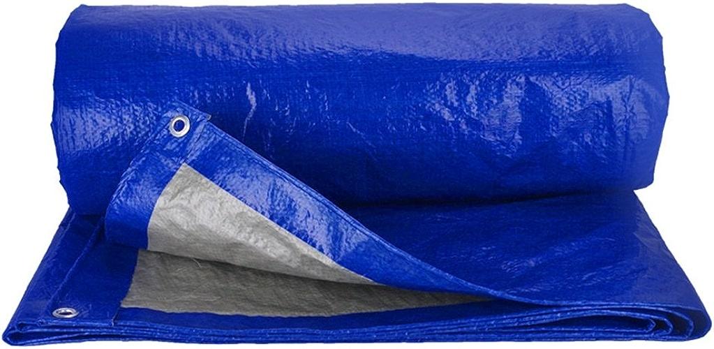 LPYMX Refuge de Camping Bache imperméable rembourrée Bleue, bache de Camion de Parasol, auvent de Tissu de poussière (Couleur   Bleu, Taille   8x10m)