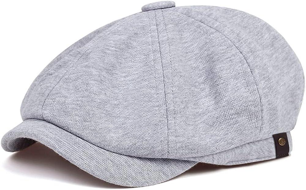 VORON Newsboy Caps Cotton Men and New arrival Winter Adjustable Autumn Excellence Hats