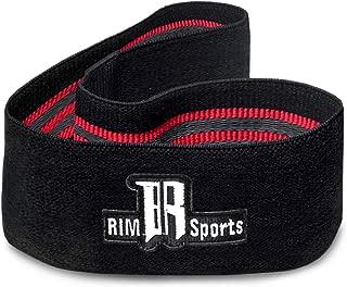 RIMSports Hip Workout Band for Women & Men - Premium Soft & Non Slip Resistance Bands