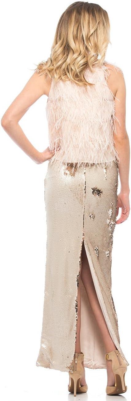 Line & Dot Lucille Sequin Skirt