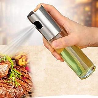 Cucina Transparent Bottiglia Vuota per aceto Ganquer Olio per Cucina Insalata 17.5cm*4cm*4cm Barbecue Spruzzatore in Vetro per Olio doliva