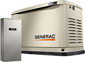 Generac 7172 Guardian 10kW Home Backup Generator with 16-Circuit Transfer Switch WiFi-Enabled