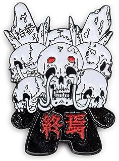 kidrobot Arcane Divination Tarot Enamel Pin Series - Death