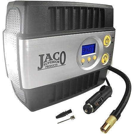 JACO SmartPro Digital Tire Inflator - 100 PSI (12V) | Advanced Portable Air Compressor Tire Pump