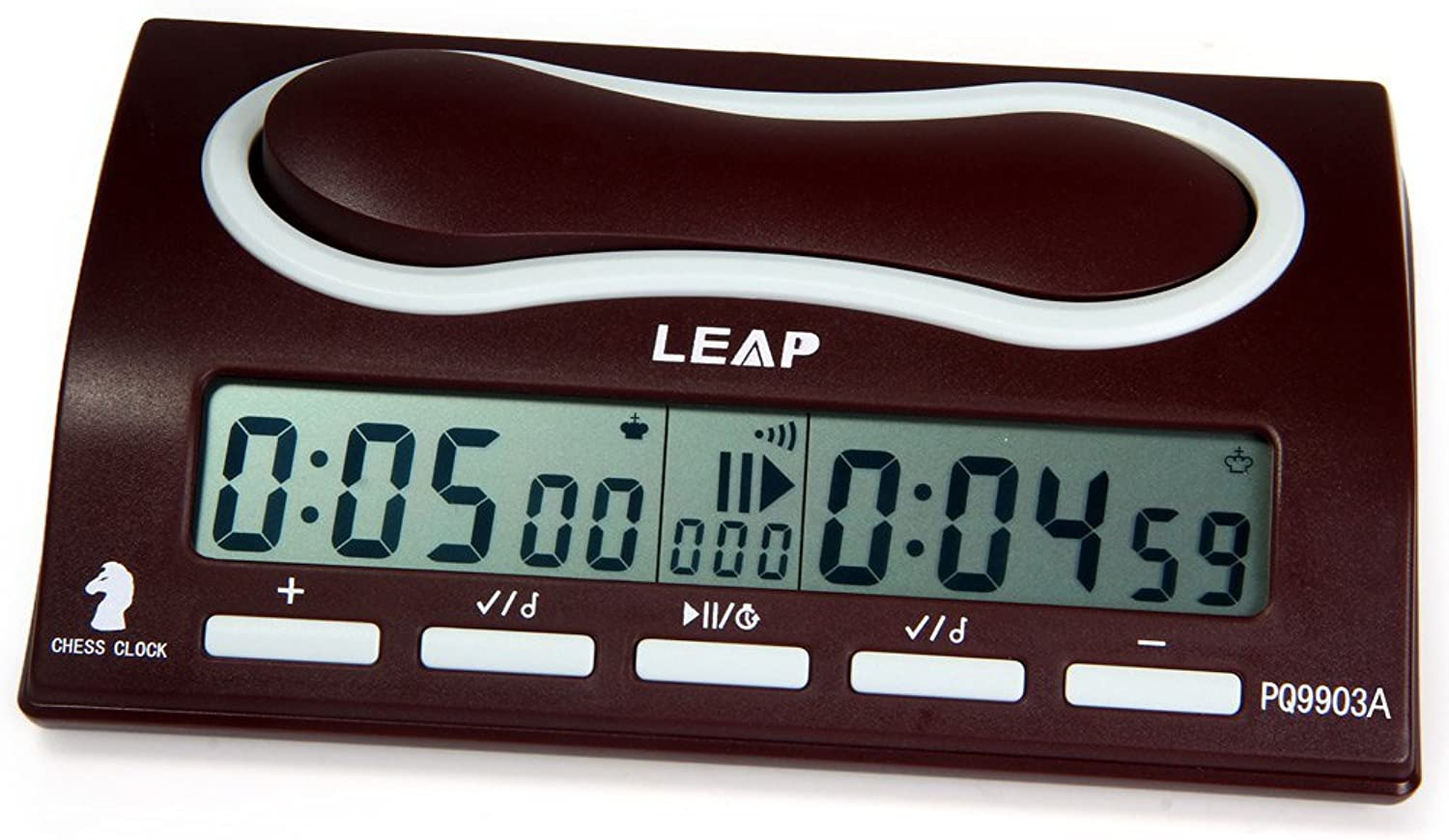 Robolife Professional Digital LEAP PQ9903A Omnipotent Chess Clock I-go Count Up Down Timer