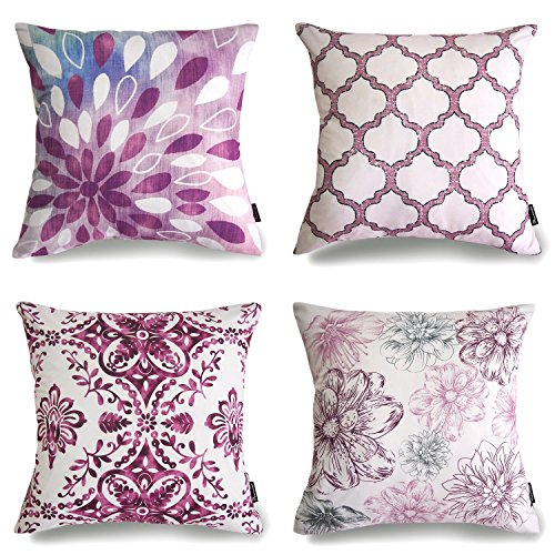 Magenta Pillow Covers
