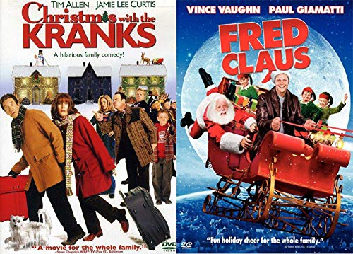 Wholesome Family Holiday Cheer DVD Pack: Christmas With The Kranks + Fred Claus Double Feature Bundle Modern Family Classics
