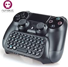 PS4 Controller Keypad - Playstation 4 PS4 Bluetooth Wireless Mini Keyboard / Chatpad for Dualshock 4 Controller