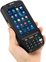 PDA Barcode Scanner Warehouse MUNBYN Rugged Handheld Terminal with Android 7.0 OS, 1D Honeywell Laser Reader, Numeric Keypad, Touch Screen Support 3G 4G WiFi BT GPS for Inventory Management System