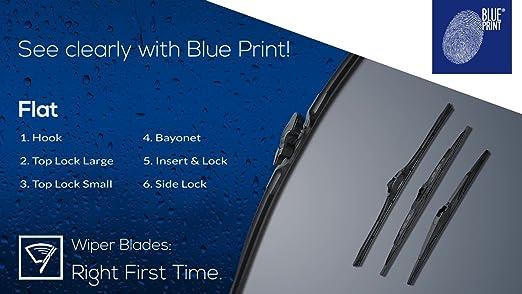 Blue Print Ad26fl660 Wischerblatt Flachbalkenausführung 1 Stück Auto
