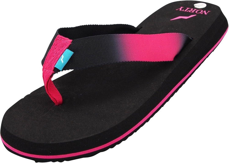 NORTY - Women's Platform Flip Flop Thong Sandal - Runs 1 Size Small