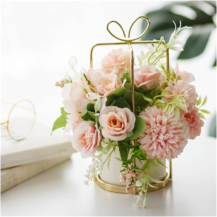 Artificial Flower Decorations Flowers Artif 2021 spring and summer new with Vase Quality inspection