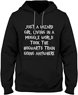 just a wizard girl hoodie