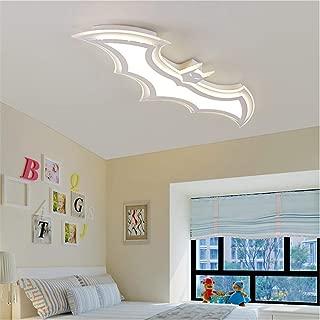 RUNNUP Modern Dimmable Ceiling Light Fixture Batman Design 37.4