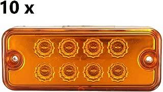 2008 2/piezas 12/V 24/V LED din/ámico progresivo indicadores de direcci/ón coche furgoneta Van de SUV Cami/ón E-marked ISO 9001