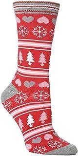 Fgolphd, Fgolphd I Par Calcetines de Navidad Mujer Hombre Navidad de Dibujos Animados Happy Casual Socking calcetín Calcetines Divertidos for los Regalos de los niños Año Nuevo
