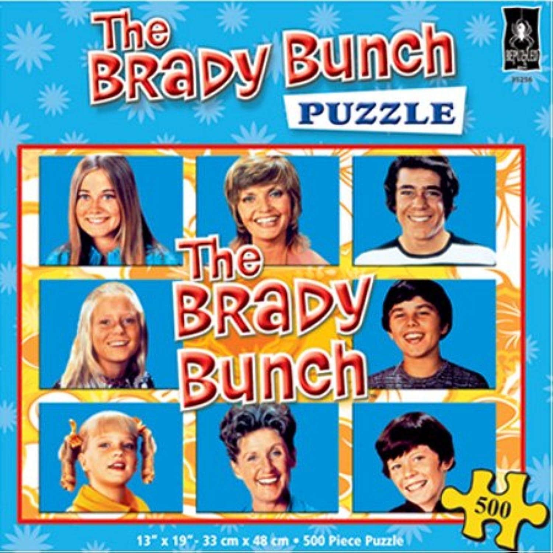 buena calidad The Brady Bunch Bunch Bunch 500pc Jigsaw Puzzle by Bepuzzled  gran selección y entrega rápida