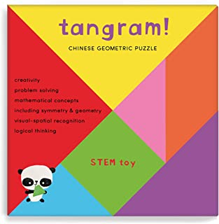 Tangram, 7-Piece Geometric Puzzle
