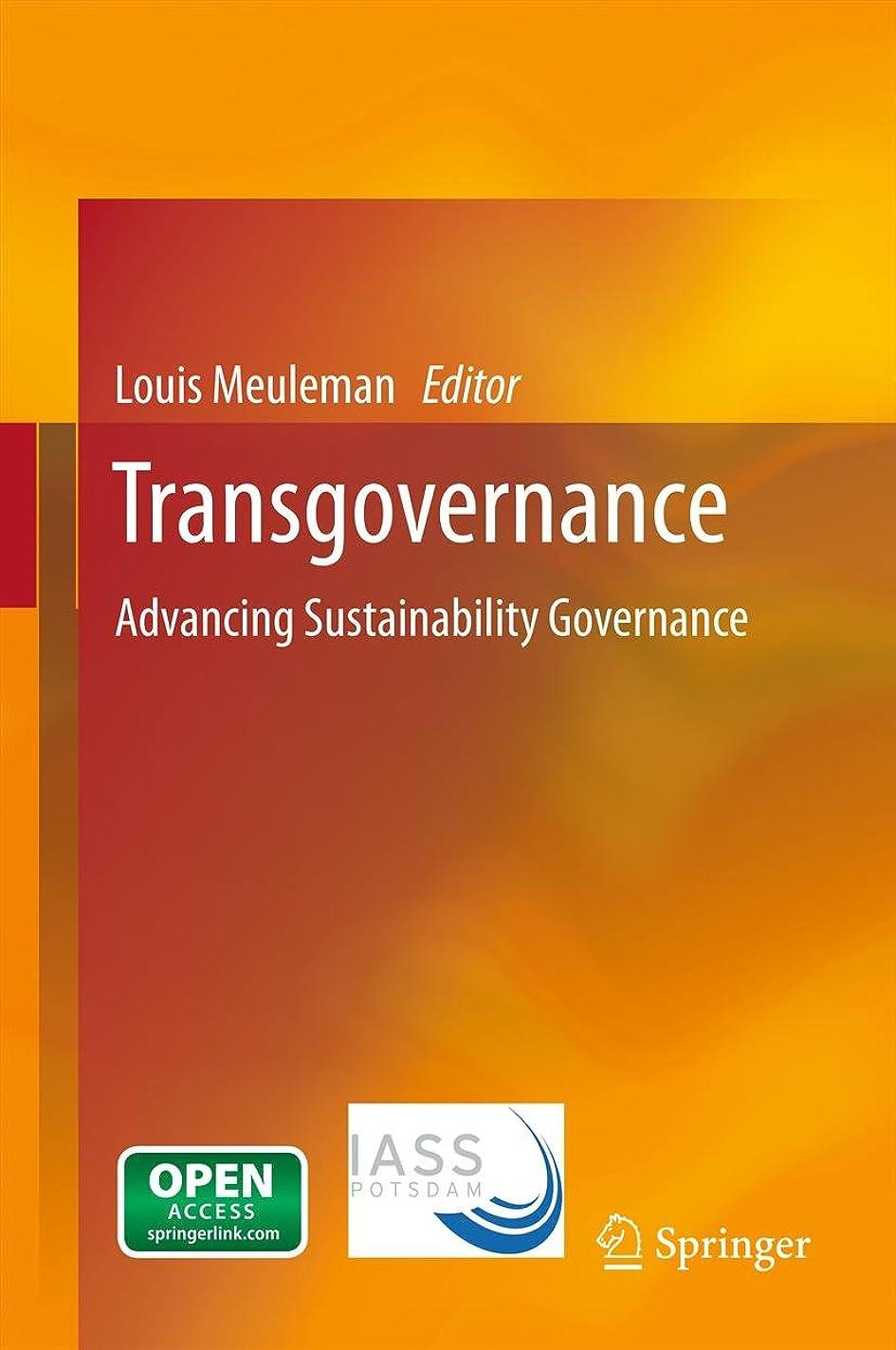 歴史的サワー面Transgovernance: Advancing Sustainability Governance (English Edition)