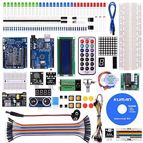 Kuman Project Complete Starter Kit for Arduino UNO