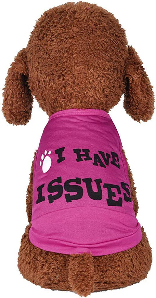 Wakeu Super-cheap Dog Clothes for Small Dogs Ranking TOP2 Summ Girl Boy Chihuahua Yorkies