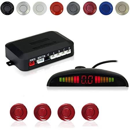 Car Electronics Radar Detectors 4 Packs X60D Frostory Car Reverse ...