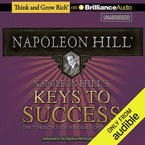 Couverture de Napoleon Hill's Keys to Success