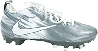 Nike Vapor Varsity Low Lax Cleat Mens Size 9 Grey/White