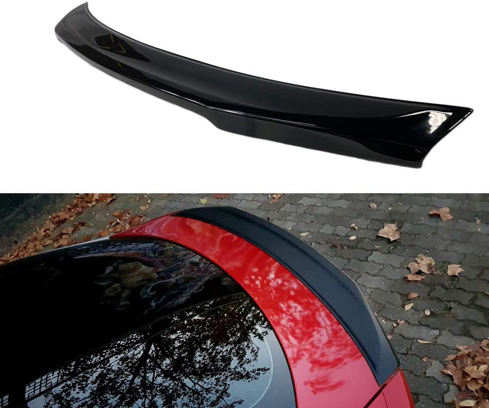MS Glossy Daily bargain sale Black Painted ABS Rear Trunk Type for Lip K S Spoiler Milwaukee Mall