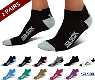 SB SOX Ultralite Compression Running Socks for Men & Women (2 Pairs)