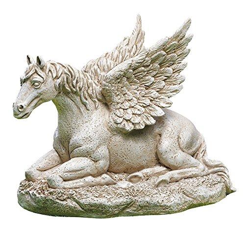 Kollektionen etc. Pegasus Statue geflügelten Pferd Outdoor Garten Skulptur Dekoration