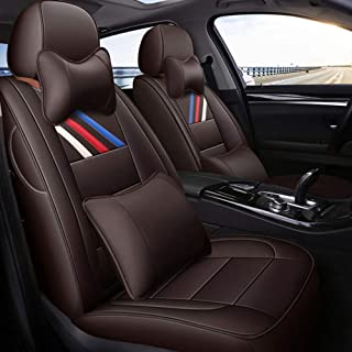 Siège en Cuir HOUSSES de Siège Voiture Noir X BMW 3er E30 E36 E46 E90 E91 E92