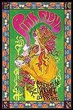 Póster 'Pink Floyd - Bob Masse' Afiche promocional del tour de 1966 (61cm x 91,5cm)