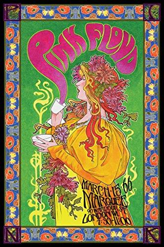 Pink Floyd Bob Masse Tourposter Unisex Poster Standard Papier 61 x 91,5 cm Band-Merch, Bands