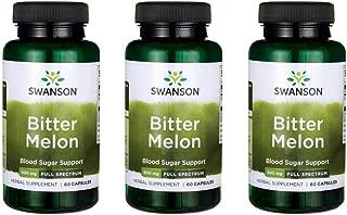 Swanson Bitter Melon 500 mg 60 Caps 3 Pack