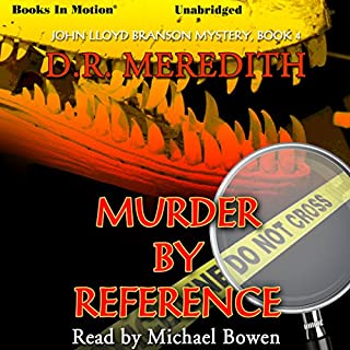 Murder By Reference audiobook cover art