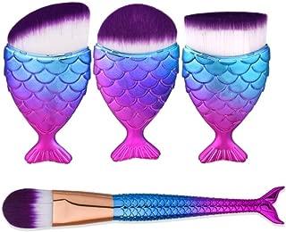 Best mermaid fish makeup brushes Reviews