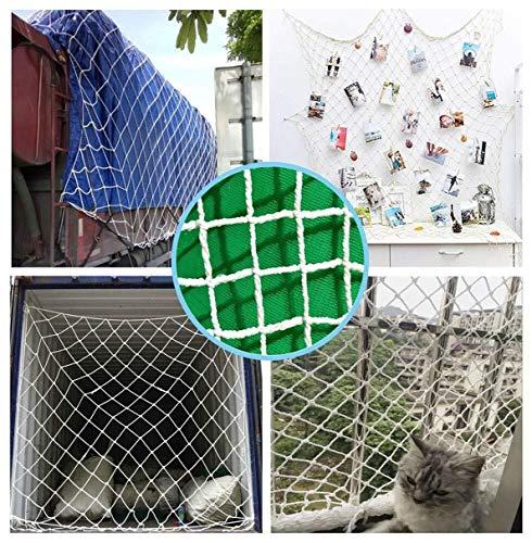 Review Interior Decoration Net, Photo Wall Hanging Net Garden Net Cargo Net Cat Security Anti-Fall N...