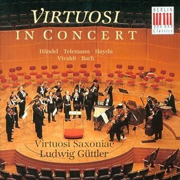 Orchestral Music (German) - HANDEL, G.F. / TELEMANN, G.P. / HAYDN, F.J. / TELEMANN, G.P. / BACH, J.S. [Virtuosi Saxoniae, Guttler]