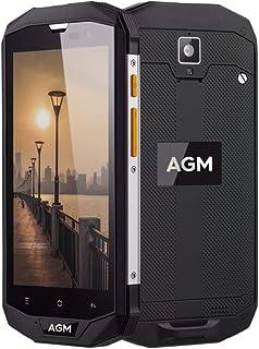 オリジナルAGM A8 IP68不透過性テレフォノモビル5.0インチHD 4GB RAM 64GB ROMクアルコムMSM8916クアッドコア13.0MP 4050mAh NFC OTG (4G+64G)