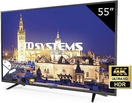 81c7737c8e TD Systems K55DLY8US - Televisor Led 55 Pulgadas Ultra HD 4K Smart,  resolución 3840 x