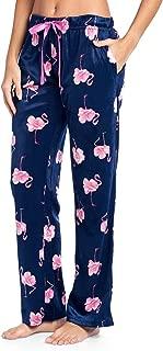 Women's Plush Mink Fleece Pajama Sleep Pants