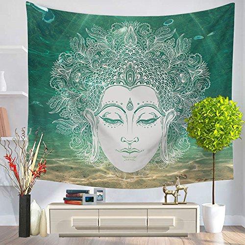 Third Goddess Buddha Statue Tapestry, Popular Handicraft Home Decor Tapestries