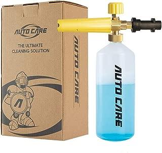 GCGZ Foam Cannon Bottle Adjustable Snow Foam Lance Car Pressure Gun Compatible with Karcher K Series (K2/K3/K4/K5/K6/K7) Pressure Washer,1-Pack