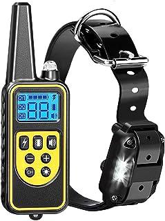Mumoo Bear Dog Training Collar, Dog Shock Collar with Remote 2500FT Shock Collar for Dogs