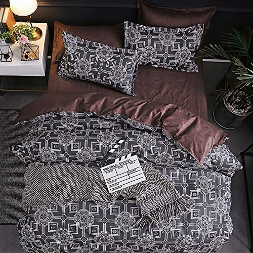MRSGG Winter zerquetscht Samt-Bettdecke, doppelte Größe, doppelte Dicke warme stoffdesign, 3 stücke Ultra weiche hypoallergene kristall samt Quilt #6