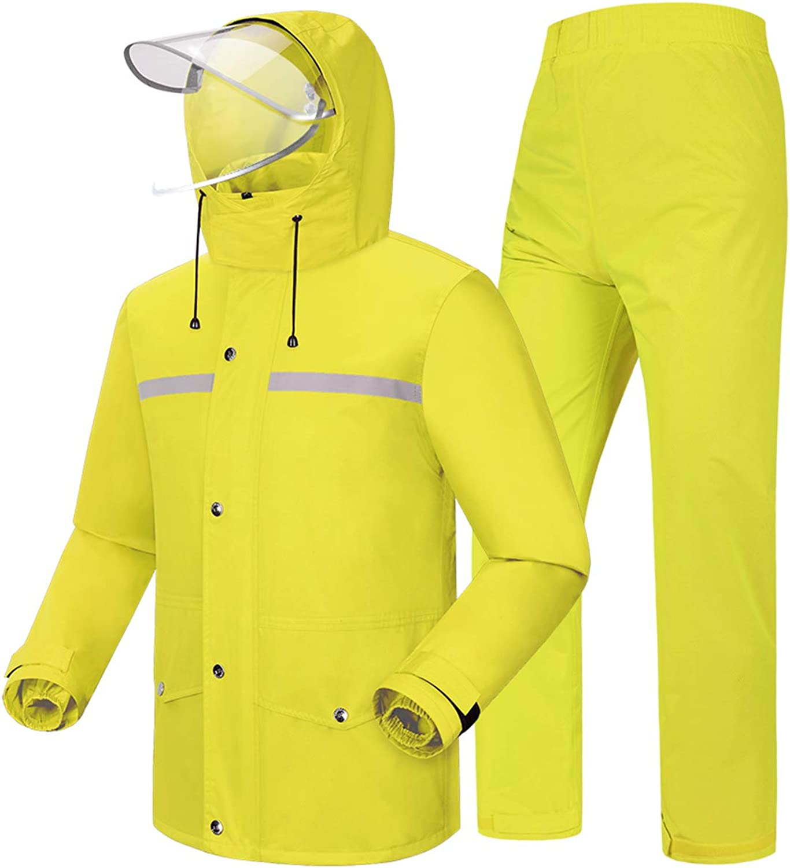 GMonday 40% OFF Cheap Sale Men's Rain Suit Anti-Storm Outdoor Waterproof Raincoat New color