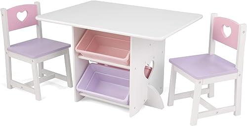 Kidkraft - 26913 - Ameublement et Décoration - Ensemble Table et Chaises avec Motif Étoile