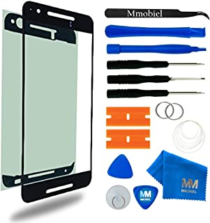 MMOBIEL Front Glass Replacement Compatible with Huawei Nexus 6P Series (Black) Display Touchscreen incl Tool Kit